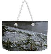 Frozen Milfoil Weekender Tote Bag