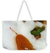 Frozen Nature - Digital Painting Effect Weekender Tote Bag