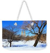 Frozen Over Weekender Tote Bag