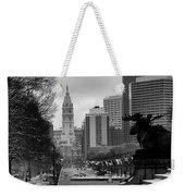 Frozen Philadelphia Weekender Tote Bag