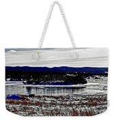 Frozen Pond Digital Painting Weekender Tote Bag