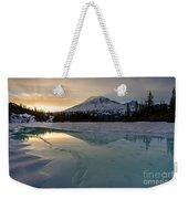 Frozen Rainier Vision Weekender Tote Bag
