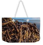 Frozen Roots Weekender Tote Bag