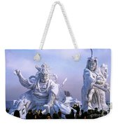 Frozen Samurai Warriors Weekender Tote Bag