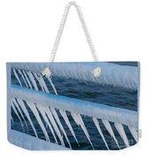 Frozen Stiff Weekender Tote Bag