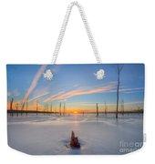 Frozen Sunrise V2 Weekender Tote Bag