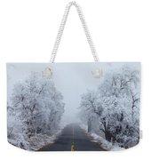 Frozen Trees Weekender Tote Bag