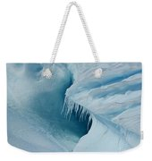 Frozen Turquoise Wonder... Weekender Tote Bag