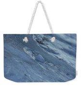 Frozen Wave Weekender Tote Bag