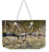 Frozen Wheels Weekender Tote Bag