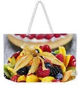 Fruit And Berry Tarts Weekender Tote Bag
