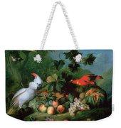 Fruit And Birds Weekender Tote Bag