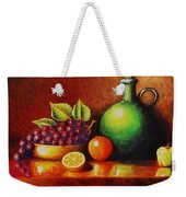 Fruit And Jug Weekender Tote Bag