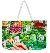 Fruit And Vegetable Stall Weekender Tote Bag
