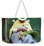 Fruit And Vegetable Vendor Cuenca Ecuador Weekender Tote Bag