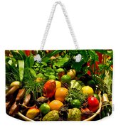 Fruit And Wine Weekender Tote Bag
