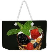 Fruit Cone Weekender Tote Bag