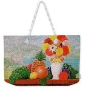 Fruit Flowers And Castle Weekender Tote Bag