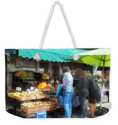 Fruit For Sale Hoboken Nj Weekender Tote Bag