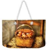 Fruit - Fresh Peaches  Weekender Tote Bag by Mike Savad
