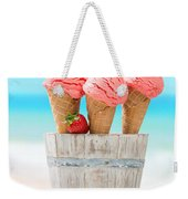 Fruit Ice Cream Weekender Tote Bag