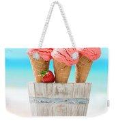 Fruit Ice Cream Weekender Tote Bag