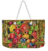 Fruit In Bamboo Box Weekender Tote Bag