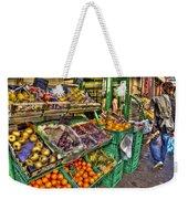 Fruit Market Weekender Tote Bag