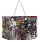 Fruit Market Weekender Tote Bag