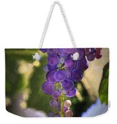 Fruit Of The Vine Weekender Tote Bag by Donna Kennedy