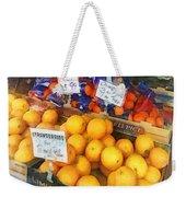 Fruit Stand Hoboken Nj Weekender Tote Bag