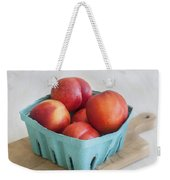 Fruit Stand Nectarines Weekender Tote Bag