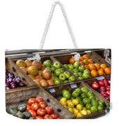 Fruit Stand Weekender Tote Bag