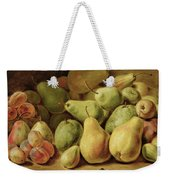 Fruit Still Life Weekender Tote Bag