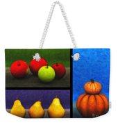 Fruit Trilogy Weekender Tote Bag