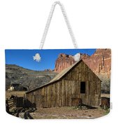 Fruita Horse Stable Capitol Reef National Park Utah Weekender Tote Bag