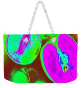 Fruitilicious - Lime And Green Apples - Photopower 1817 Weekender Tote Bag