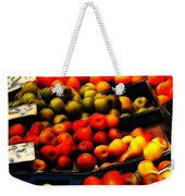Fruits On The Market Weekender Tote Bag