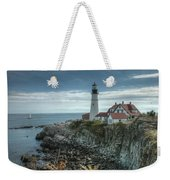 Ft. Williams Lighthouse Weekender Tote Bag