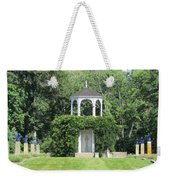 fu dog garden and Buddha Pavillion Weekender Tote Bag