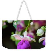 Fuchsia Birthday Card Weekender Tote Bag