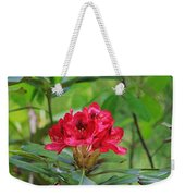 Fuchsia Rhododendron Moore State Park Weekender Tote Bag