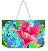 Fuchsia Tulip By M.l.d. Moerings 2012 Weekender Tote Bag