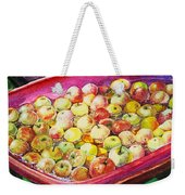 Fuji Apples In The Water Weekender Tote Bag