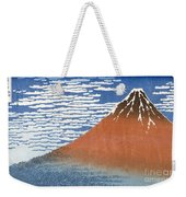 Fuji Mountains In Clear Weather Weekender Tote Bag