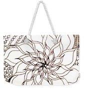 Full Bloom V Weekender Tote Bag