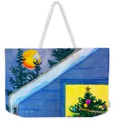 Full Moon At Christmas Weekender Tote Bag