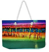 Full Moon In Flagler Weekender Tote Bag