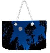Full Moon In Yosemite Weekender Tote Bag