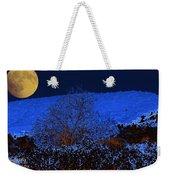 Full Moon Night Weekender Tote Bag